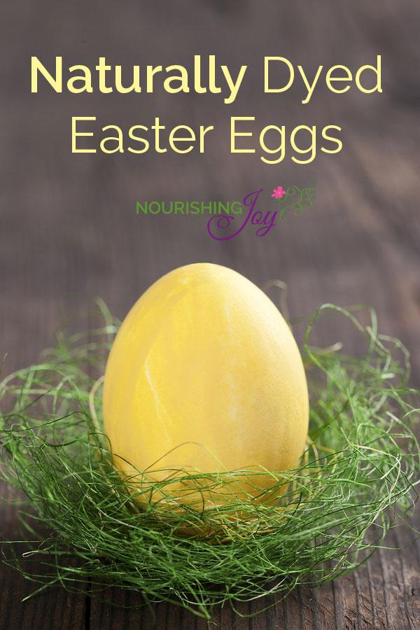 Naturally Dyed Easter Eggs | NourishingJoy.com